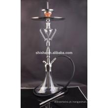 Mais vendidos Kaya aço inoxidável Hookah vidro novo acessório Shisha