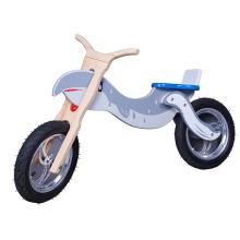 Bicicleta de passeio de equilíbrio de madeira para crianças