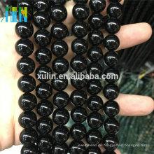 Großhandel Natürliche Bulk Jet Perlen Halbedelstein Achat Schmuck Perlen
