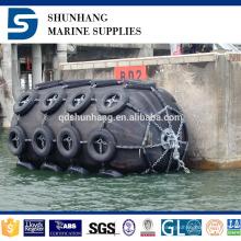 Defensa flotante de goma del muelle de la fuente de la fábrica