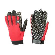 Microfibra de microfones de silicone Palm Mechanic Glove-7216