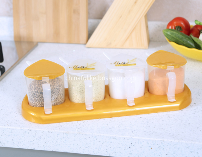 4 Condiment Containers