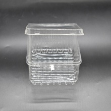 Clear Disposable Fruit Takeaway Plastic Food Container