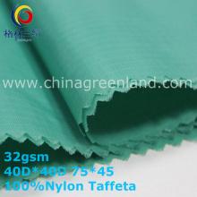 300 T Nylon Taffeta Plaid Fabric for Cotton Clothes (GLLML340)