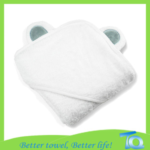 Hooded Baby Towel Thick Bamboo Organic 600gsm