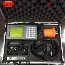 Jt5000 Portable Digital 100 ~ 2000Hz Détecteur de fuites souterrain ultrasonique de l'eau