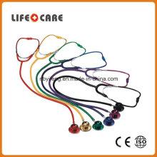 Coloured Dual Head Aluminium Alloy Chestpiece Stethoscope for Adult
