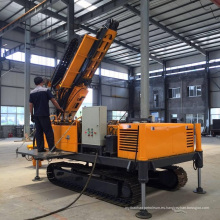 Máquina hidráulica de la plataforma de perforación del ancla de la correa eslabonada para la venta