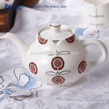 Style de Cheongsam Style chinois Oriental Tea Pot, Hot Sale Antique Ceramic Tea Set