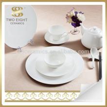 super white personal design restaurant stoneware plates dishes