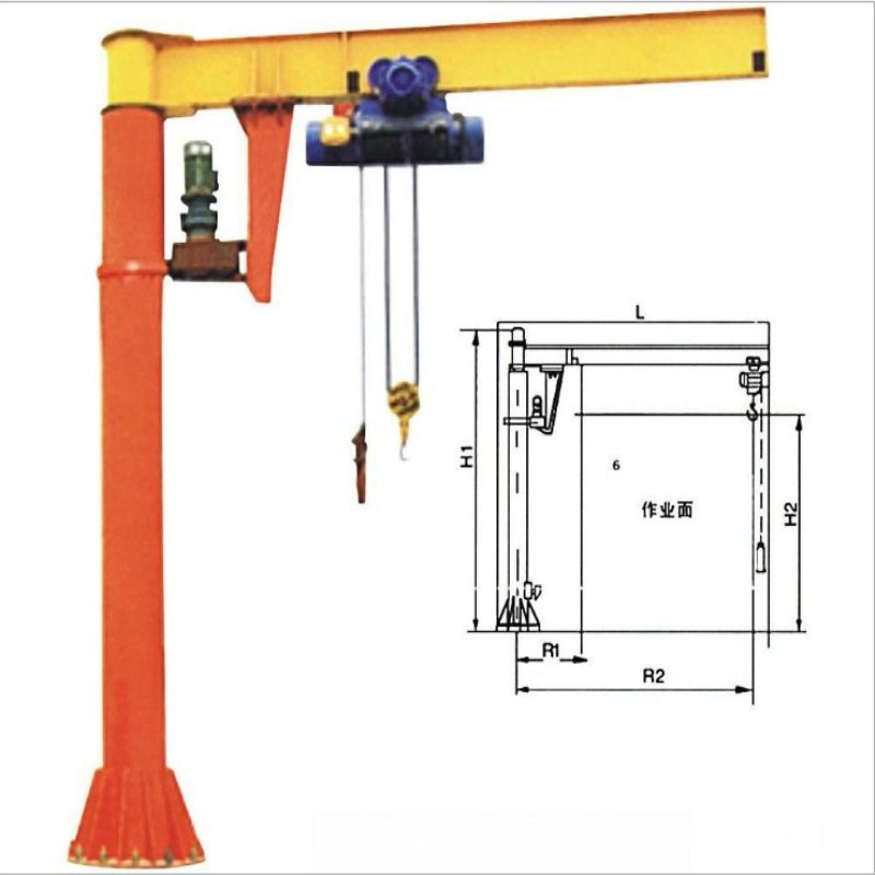 Jib cranes for industries