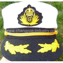 high quality custom cotton fashion sailor caps