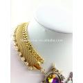 2018 элегантный красочные бусины акриловые заявление богемной кисточкой ожерелье