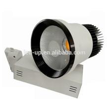 De Buena Calidad CE RoHs aleación de aluminio Bridgelux seguimiento luz 10w COB Led Track Light