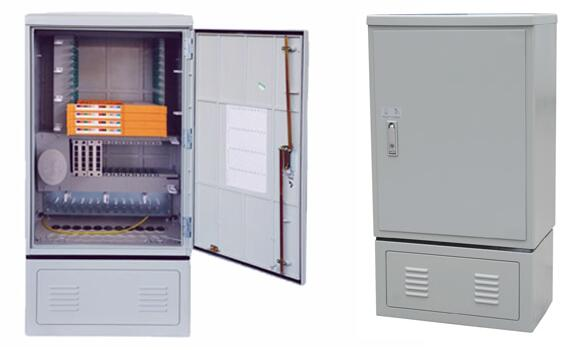 Single Door Optic Fiber Wall Cabinet