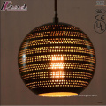 Fashion Individuality Black Hollow Pendant Light with Dining Room