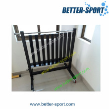 Vinyl Dipping Dumbbell Rack, Dumbbell Rack