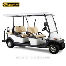 Carrito de golf eléctrico de 4 + 2 asientos mini gold club