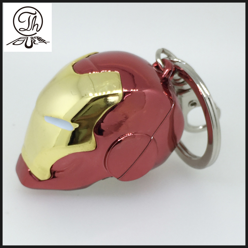 Iron Man metal key rings