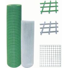 PVC beschichtet geschweißte Drahtgeflecht / geschweißte quadratische Maschendraht
