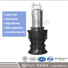 Pompe d'hélice submersible avec turbine à flux axial / à flux mixte