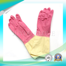 Kitchen Anti Acid Latex Cleaning Gloves with ISO9001 Approved
