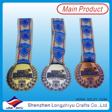 Australia National Medal Metal Baseball Medals and Medallion Trophies Cheap Sports Medal with Ribbon (LZY00018)