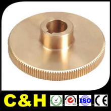 Custom CNC Machined Turned H59 peças de latão