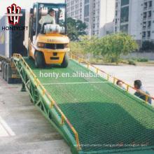 15 ton china supplier CE mobile yard ramp/box truck loading ramp