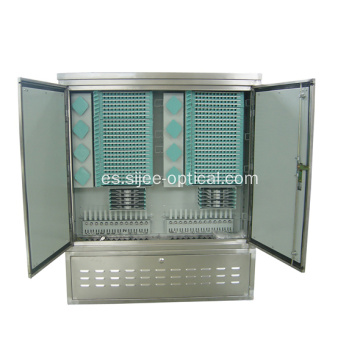 1152 Fibras Fuera de fibra Cable Cross Connect Cabinets
