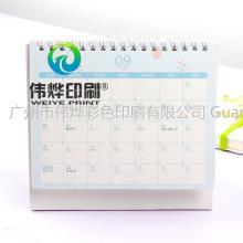 Printing Custom Gift Promotion Spiral Binding Paper Desk Calendar
