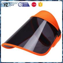 Фабрика поставки простой дизайн дешево summmer солнцезащитный козырек шляпа оптовой