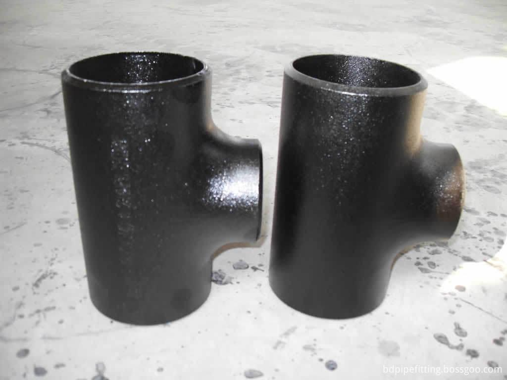 Seamless Butt Welding Carbon Steel Tee