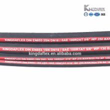 Kingdaflex steel wire braided hydraulic hose (sae 100 r1 r2 r3 r5 r6 r9 r12 r13)
