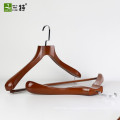 high end quality custom display  wooden suits hangers