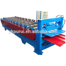 Professioal colored double layer roll forming machine