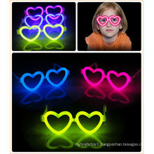 Party Must! Glow Heart Eyeglasses