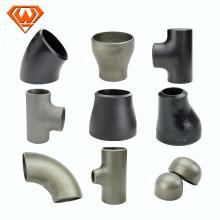 proveedor de china de alibaba pintura accesorios de tubería soldada a tope de acero inoxidable