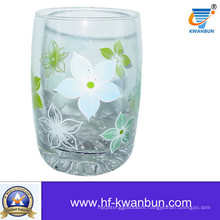 Hot Selling Full Decal Print Glass Cup Tableware (KB-HN0403)