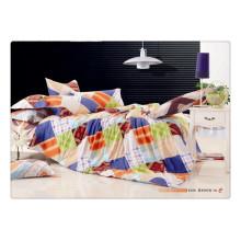 100 Baumwolle 40s 128 * 68 Luxus weichen hochwertigen Pigmentdruck Super König Bettbezug