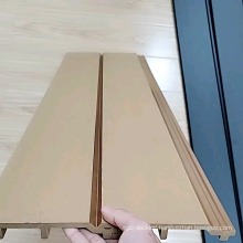 Exterior composite wood wall siding or wall cladding or wall panel made of waterproof material wpc