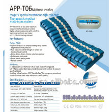 Alívio de pressão para a substituição de colchão de escaras provent com compressor de apoio de fundo de espuma APP-T06