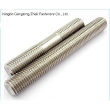 Varas roscadas de aço inoxidável DIN975