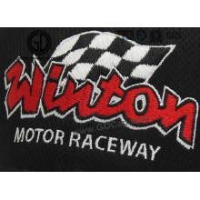 Logotipo personalizado de alta qualidade bordado para boné de beisebol, roupas
