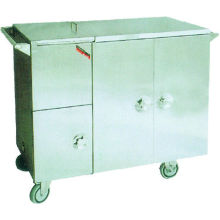 Hospital Furnitures-stainless Steel Insulated Food Cart, Electric Heated (heat Store Type)