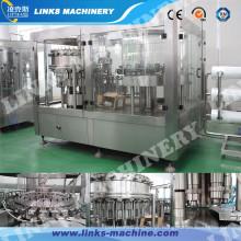 Bebidas carbonatadas automáticas, equipamento de enchimento