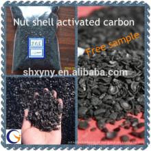 Muito competitivo preço porca casca de carvão ativado fornecedor de fabricação de carvão granulado ativado