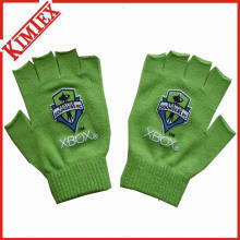 Customs Promotion gestrickte Magic Fingerless Handschuh mit Printing