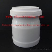 Tasse de lait en porcelaine