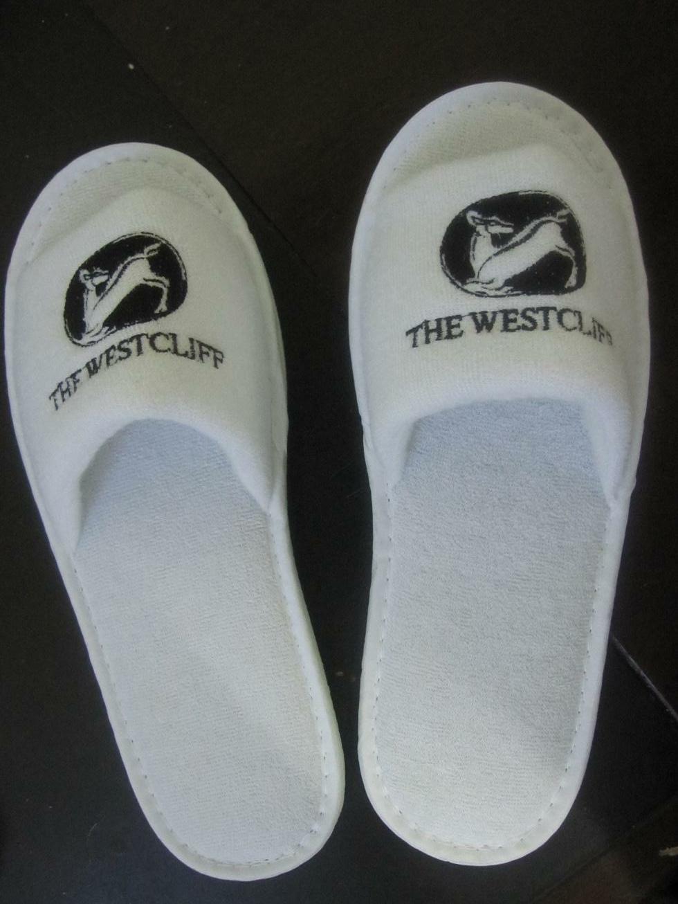 5Star Hotel White Slipper